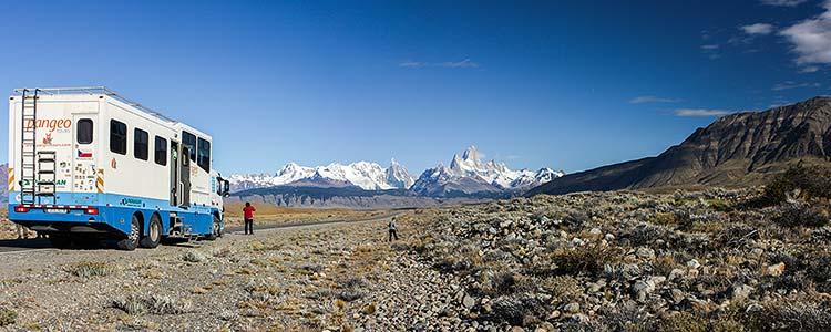 Poznávací zájezd Patagonie - NP Los Glaciares, masiv Fitz Roy
