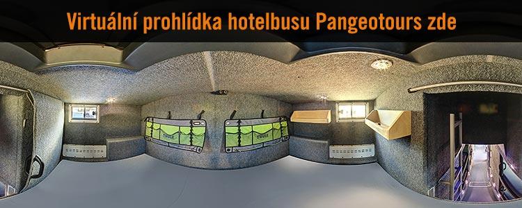 Virtuální prohlídka Hotelbusu Pangeotours - manželská ložnice