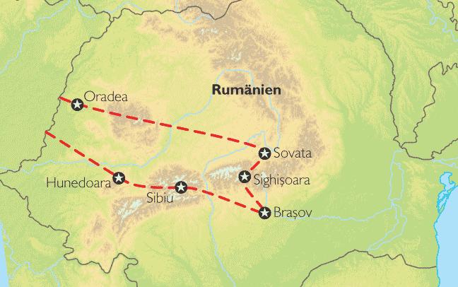 transsilvanien karte Reise Pangeo tours: Rumänien, Transsilvanien | Auf den Spuren Draculas transsilvanien karte